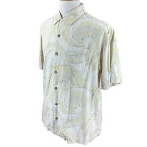 Tommy Bahama Men's Silk Shirt Medium